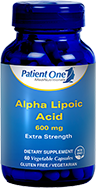 Alpha Lipoic Acid 600 mg
