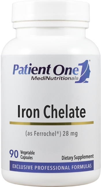 Iron Chelate 28 mg (as Ferrochel®)